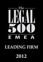 Legal 500  EMEA johta