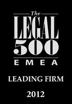 Legal 500  EMEA johtava asianajotoimisto